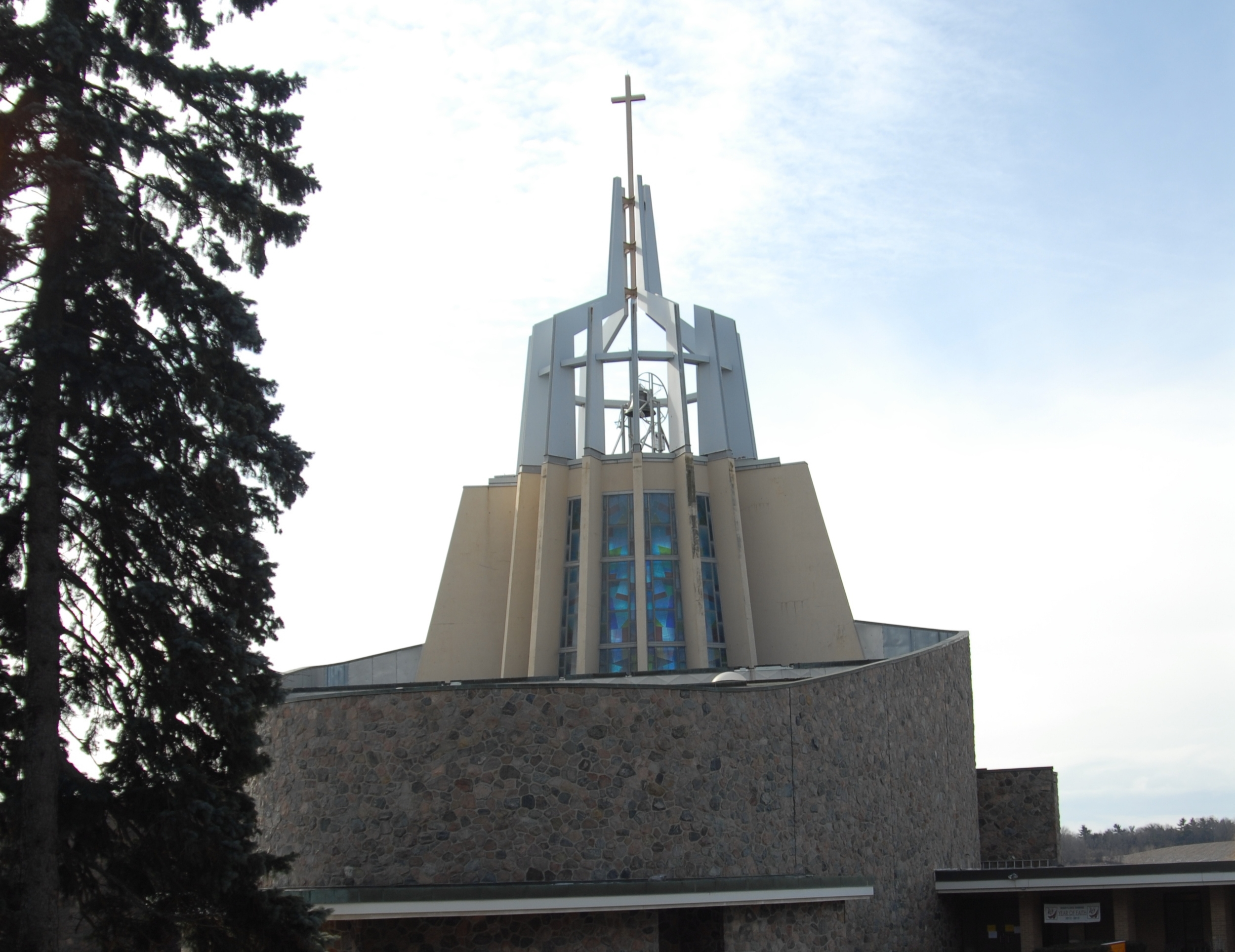 The Shrine of Our Lady of Grace at Marylake Monastery in King City, Ontario