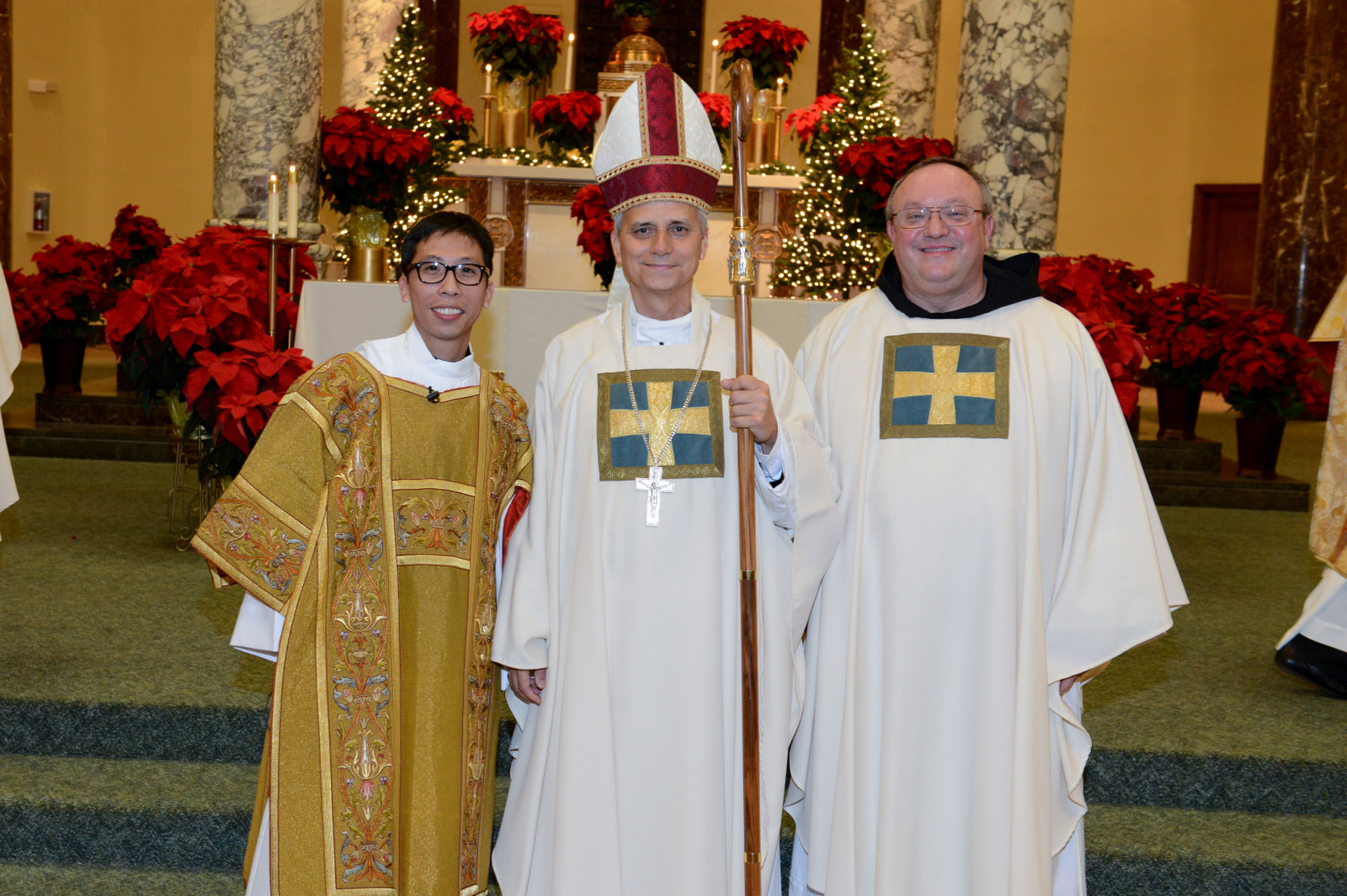 Deacon Richie Mercado, O.S.A. (left) will be ordained to the Priesthood on June 10, 2016