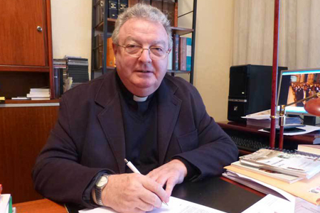 Pope Francis named Manuel Herrero Fernandez, OSA to be the new Bishop of Palencia, Spain