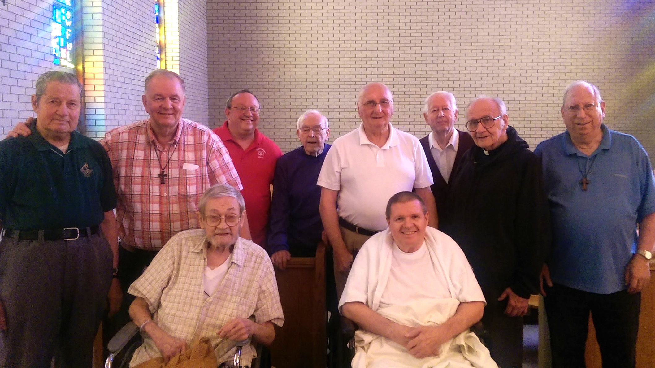 Thanks to funders like the Bernard Heerey Foundation, retired Augustinians can live in modest, prayer-filled retirement communities.