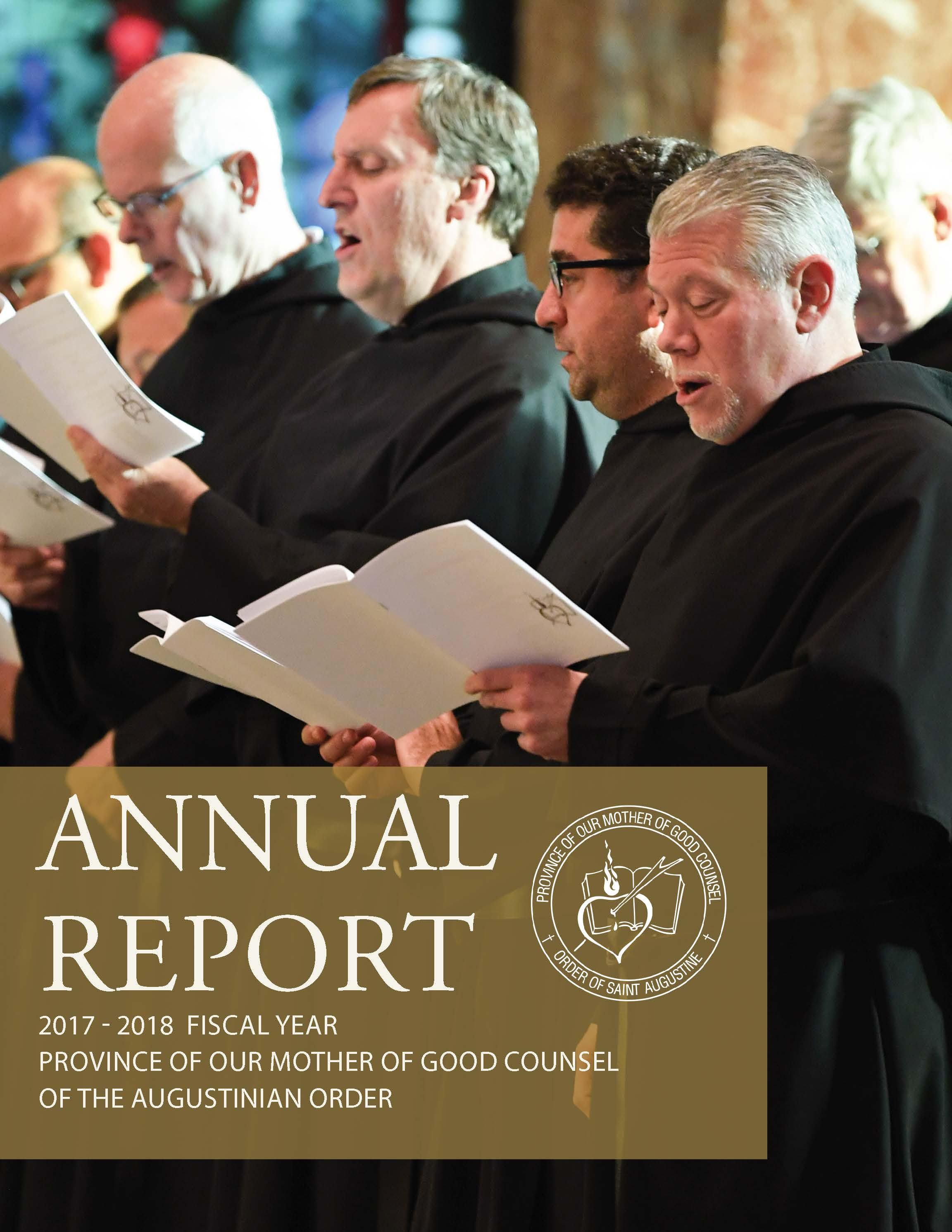 View Our 2017-2018 Annual report for the Midwest Augustinian province