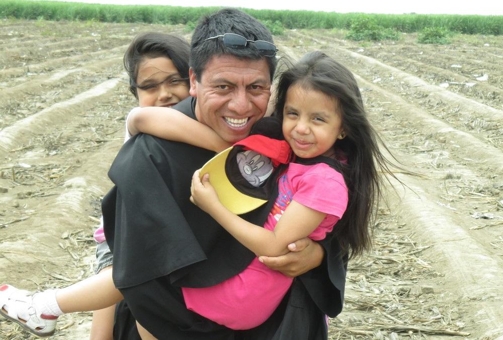 GROUNDBREAKING FOR FUTURE SCHOOL IN PERU