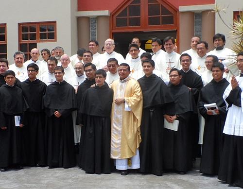 Peru First Vows Professions 2014