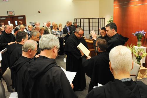 The Beginning of Fr. Bernie Scianna's Second Term as Prior Provincial