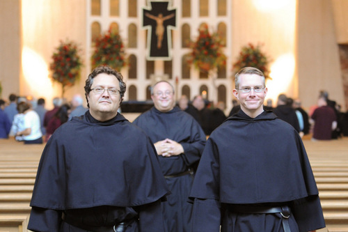 FIRST PROFESSION OF VOWS 2014 (BROTHERS NICK MULLARKEY, O.S.A, AND JOE SIEGEL, O.S.A.)