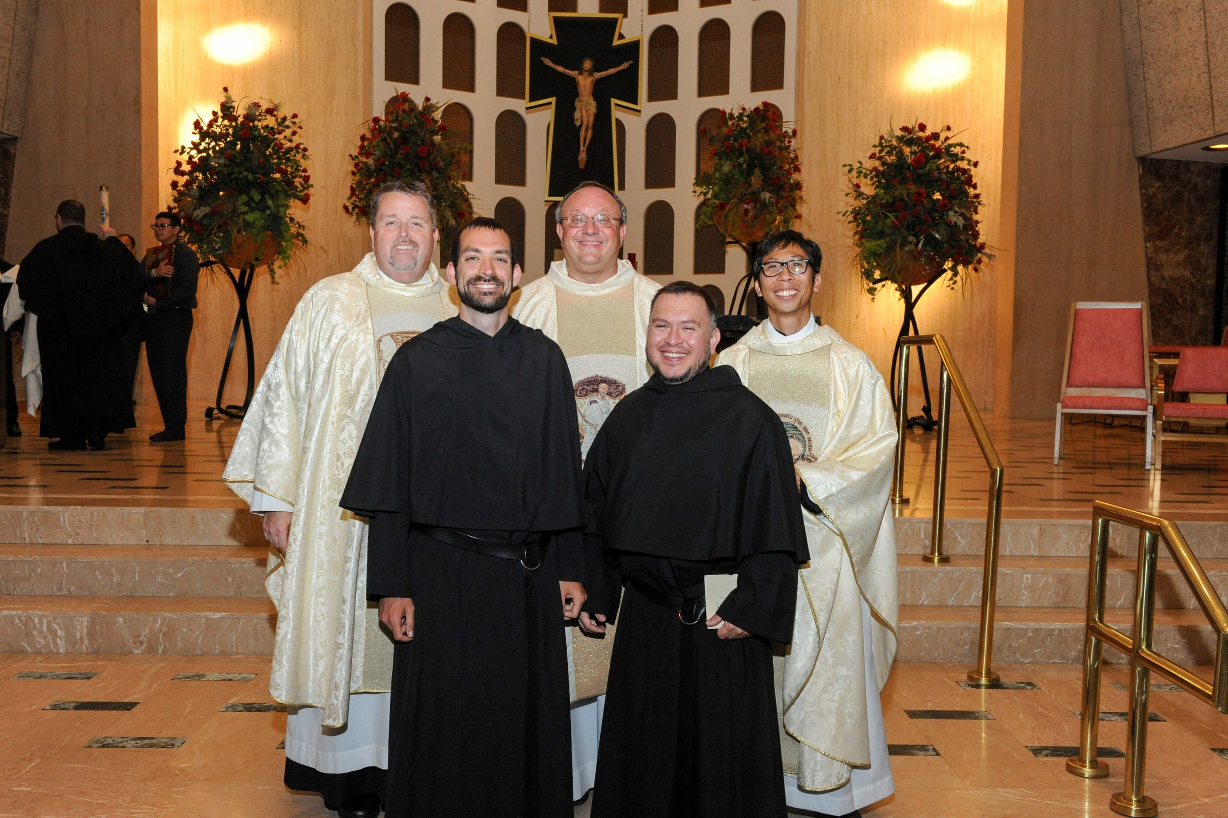 SOLEMN PROFESSIONS OF VOWS BROS. STEPHEN ISLEY, OSA AND JOE RUIZ, OSA ON FEAST OF ST. AUGUSTINE 2016