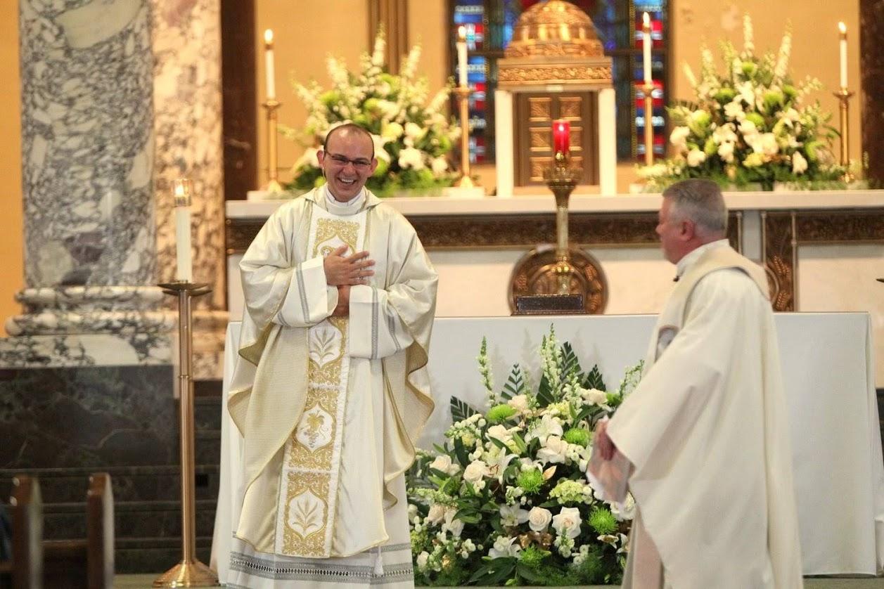 Rev. Homero Sanchez, OSA's First Mass 2013