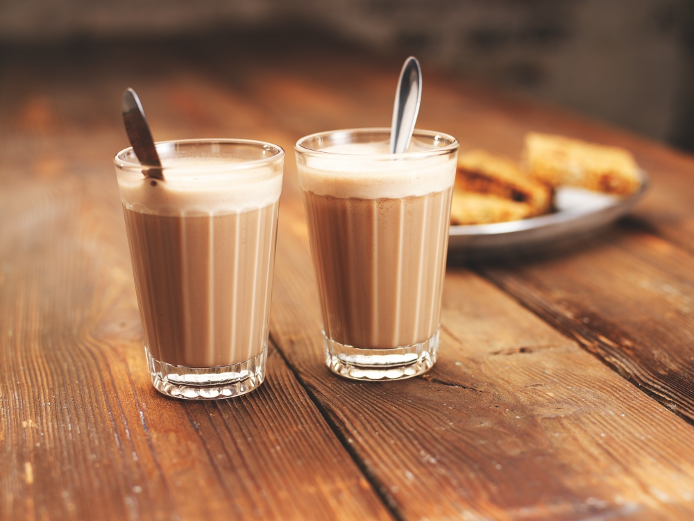 Classic Indian Chai - 1) Mix 2 teaspoons (10-15g) of Mumbai Railway Chai with 4oz hot water + 4oz hot Milk or Mylk..2) Give it a good stir and then    Normal.dotm 0 0 1 12 71 Hello Good Sip Ltd. 1 1 87 12.0           0 false  21  18 pkt 18 pkt 0 0  false false false                     /* Style Definitions */ table.MsoNormalTable 	{mso-style-name: