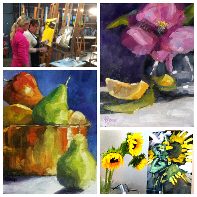 Still Life and Daily Painting Workshop: Building Brushwork with Kelley Brugh