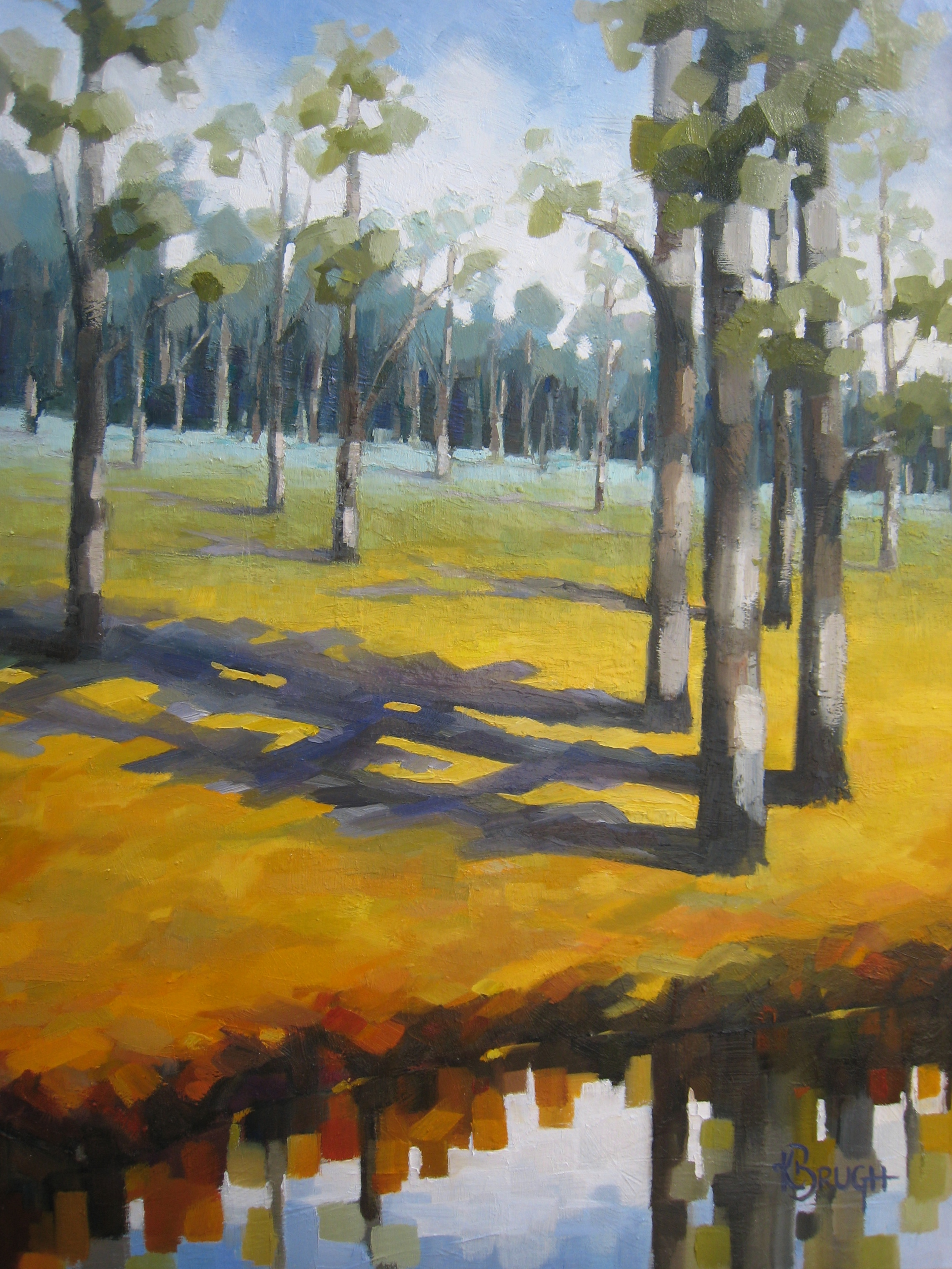 Kelley Brugh_A Walk in the Woods_30x40, Oil on canvas.jpg