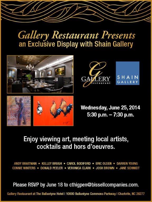 Shain Gallery flier