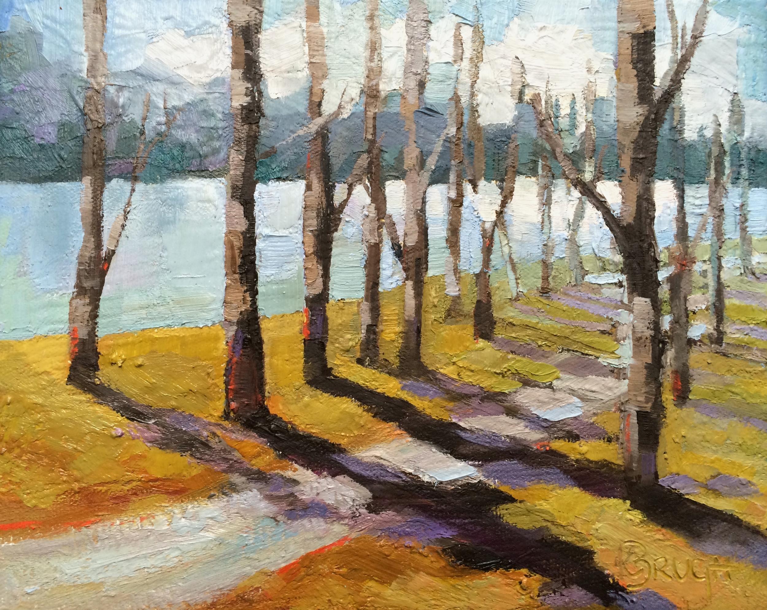 Kelley Brugh_River Walk_8x10, Oil on canvas.JPG