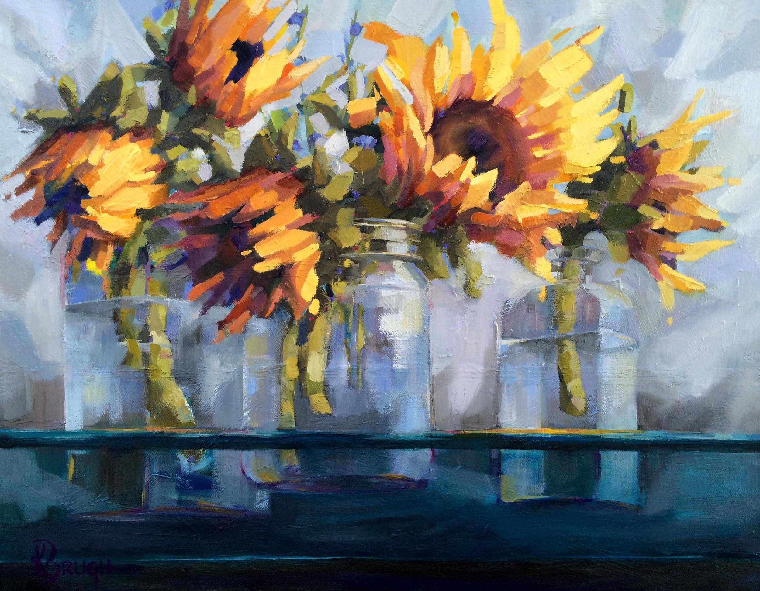 Kelley Brugh_Dazzling Display_24x30, Oil on canvas.JPG