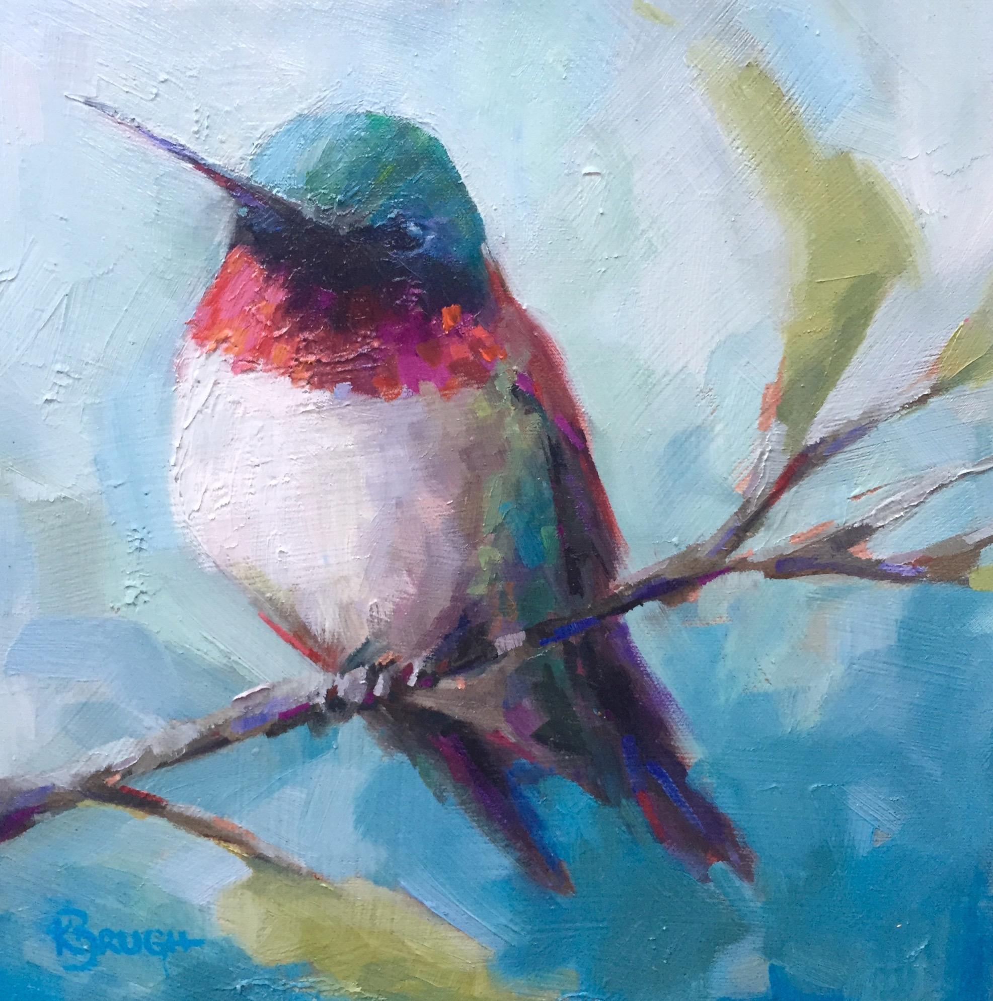 Ruby Red by Kelley Brugh_12x12, Oil on canvas.jpg