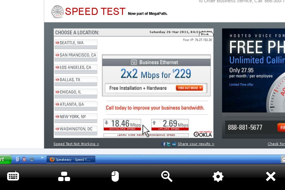 18Mbps down!? I was only getting 6-10 before..