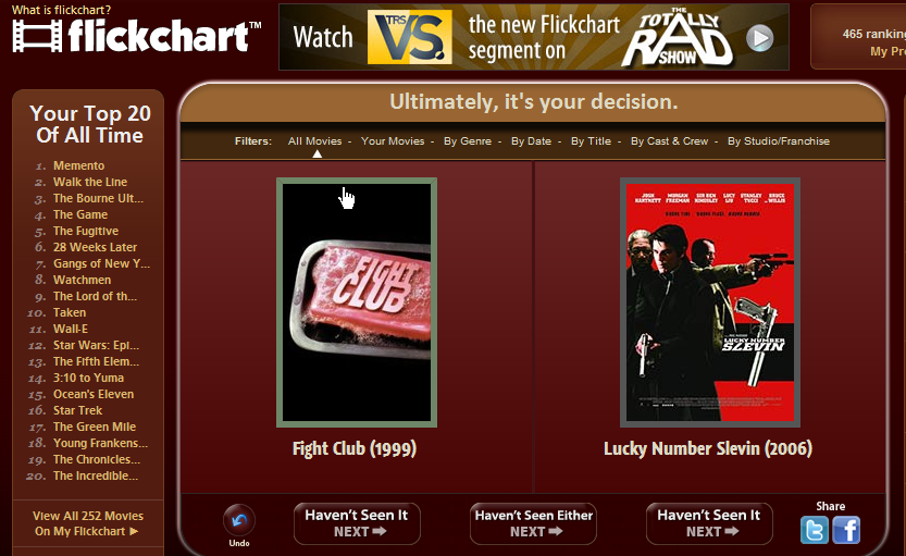 ...but I enjoyed  Lucky Number Slevin  more...