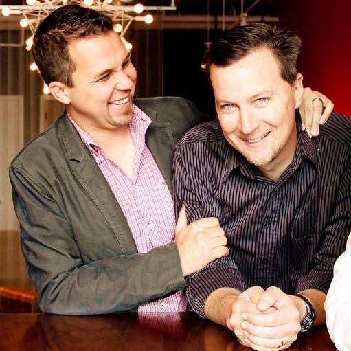 Da sinistra, Paul Mabray e James Jory