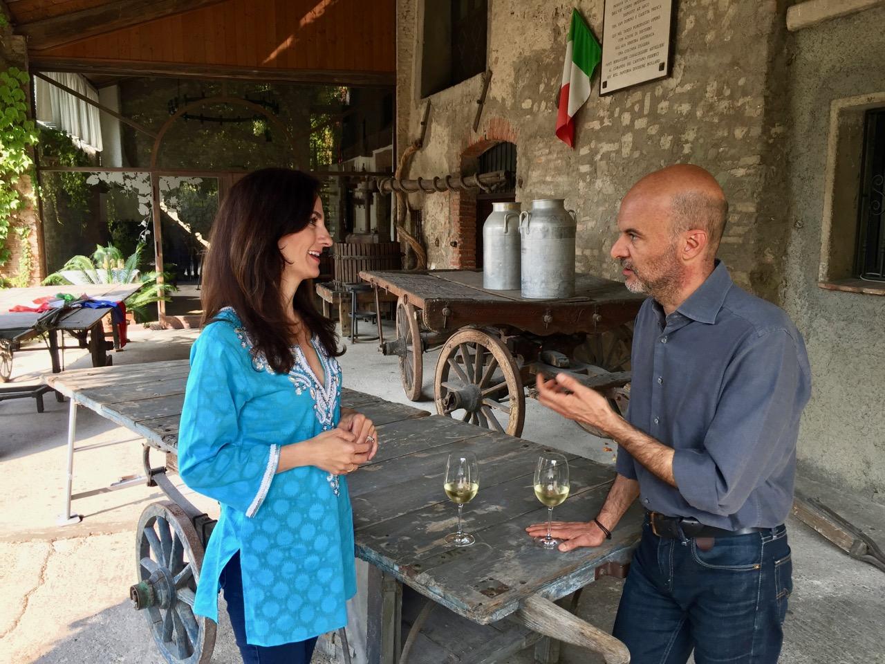 Monique Soltani e Luca Formentini