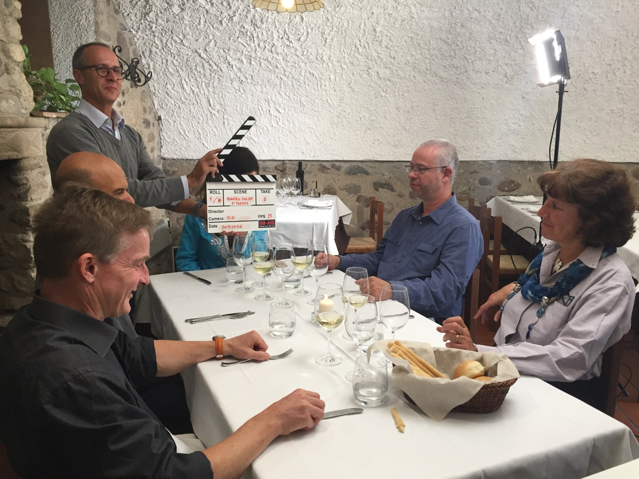 """Il """"pranzo tipico"""" a Cascina Capuzza"""