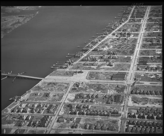 Atlantic Beach Bridge 1949
