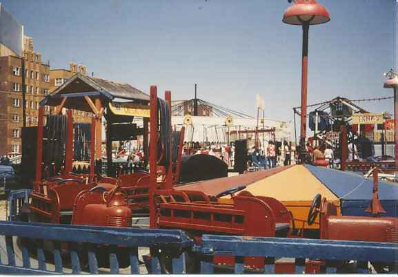 Boardwalk Gruberg's Amusements Fire Engines 1980 Laura Murphy.jpg