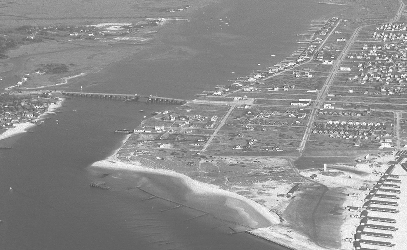 1946 East Rockaway Inlet Old Atlantic Beach Bridge
