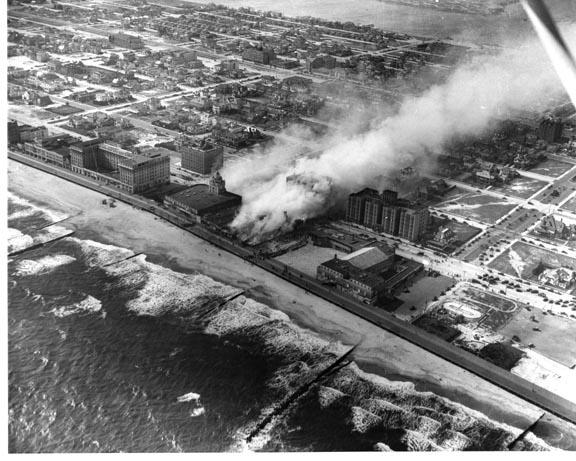 Castles Theatre Fire July 1936