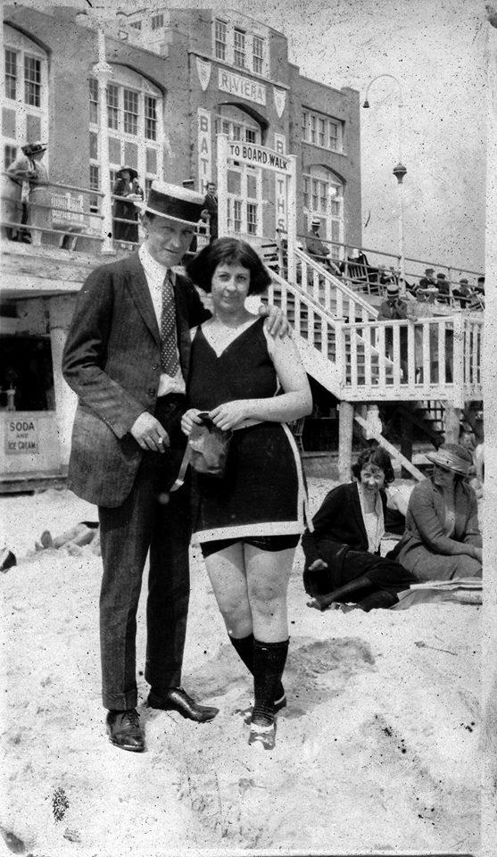 1919 August & Nellie Hussar