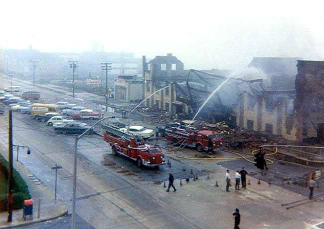 Tower Baths Fire 1965