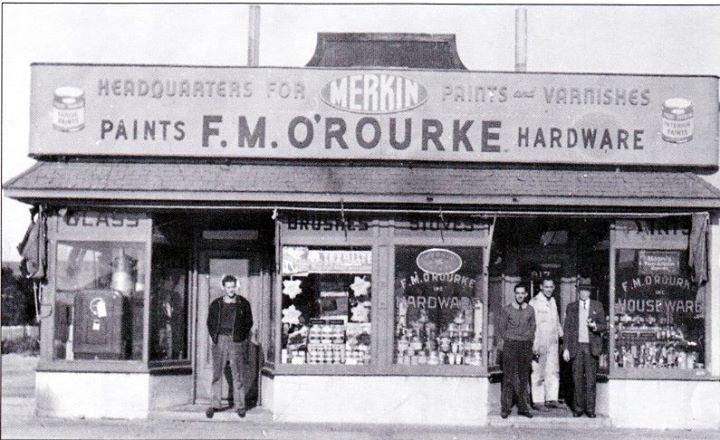 F.M. O'Rourke Hardware 1917 West Beech Street.jpg