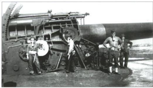 Control Tower Gun at FT Tilden