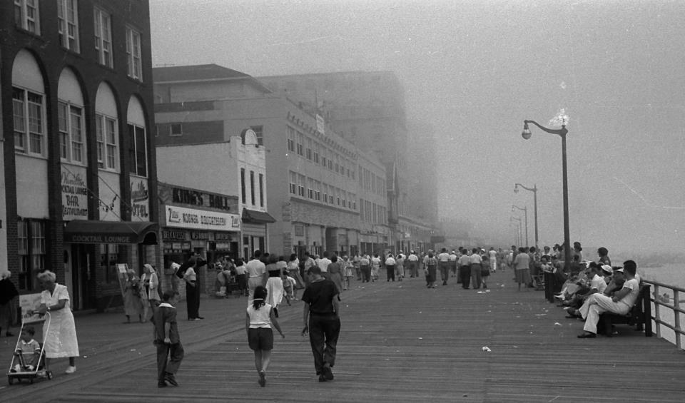 Boardwalk Looking East 1950s