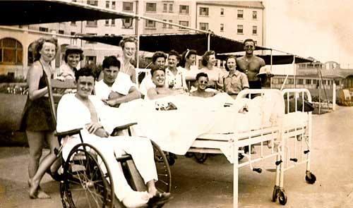 Hotel Lido Lifeguards Recovering Servicemen WWII 1946.jpg