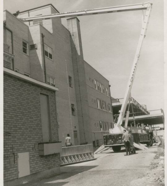 Fire Dept Snorkel 2 Drill LB Hospital 1960's.jpg