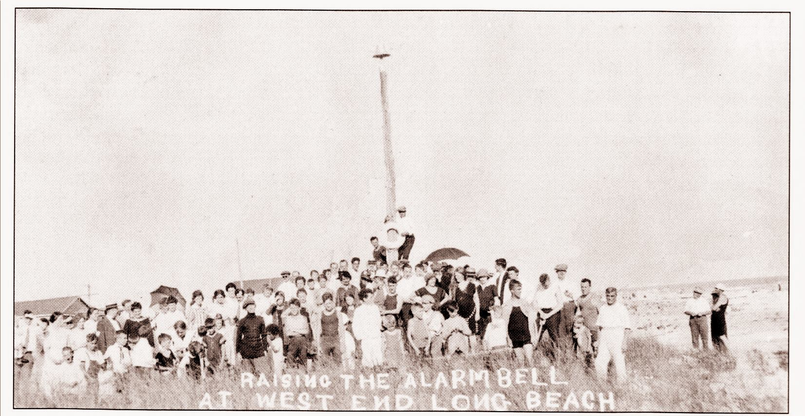 Fire West End Ringing Bell on Dunes 1920.jpg