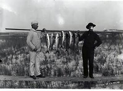 Hotel Long Beach 1890 Stringer of Bluefish.jpg