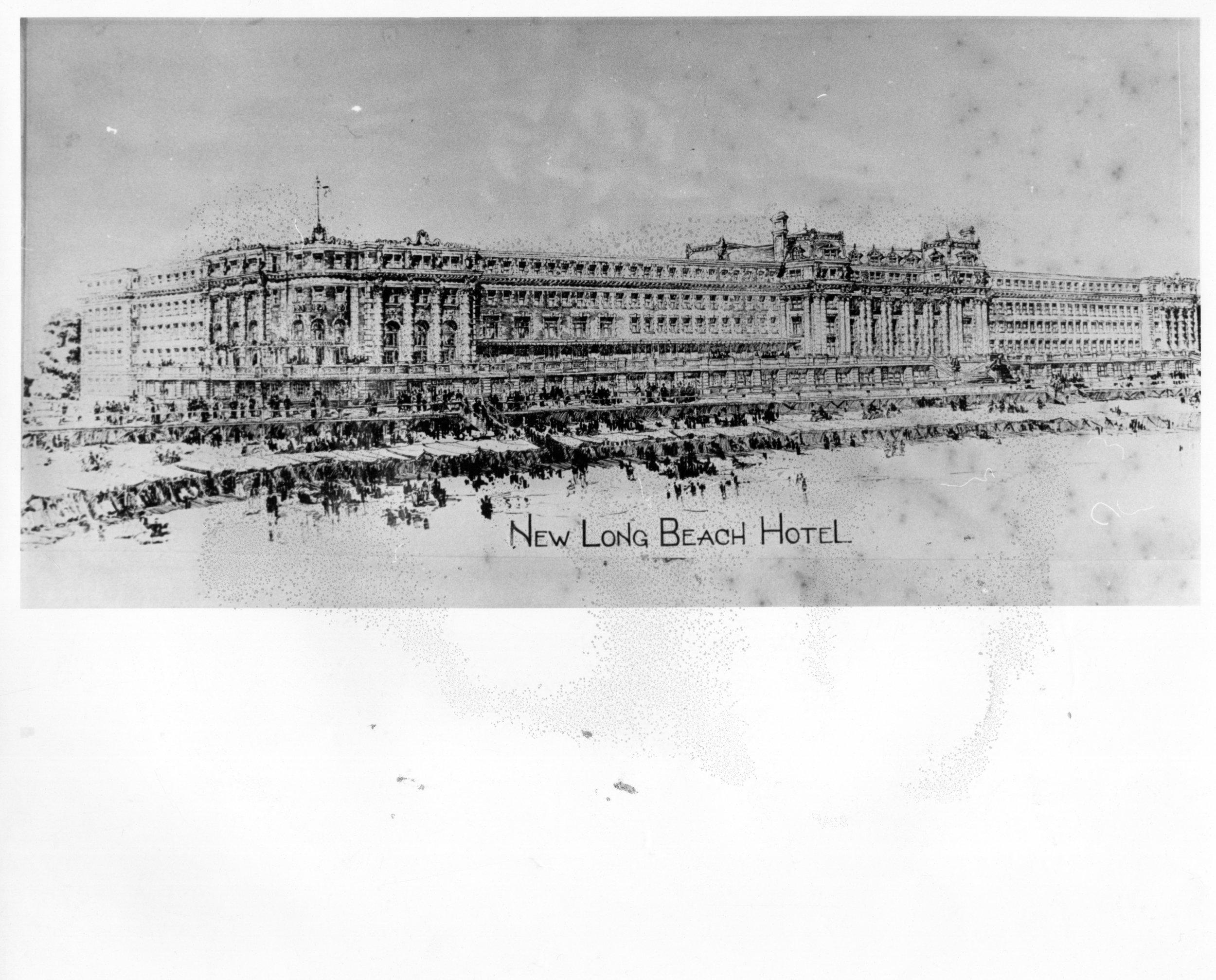 Hotel Long Beach Reynolds Post Card Construction Never Built 2.jpg