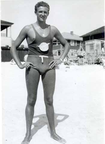 Long Beach Lifeguard Ed Steffen Jr Delaware Beach 1941.jpg