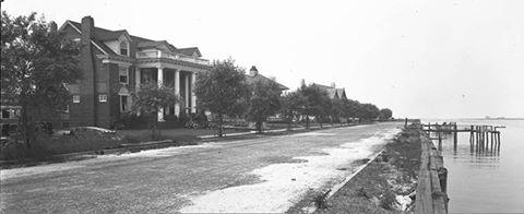 West Bay Drive Looking West  2 1919.jpg