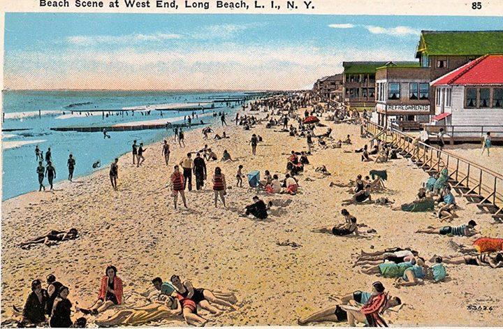Beach Scene West End Post Card.jpg