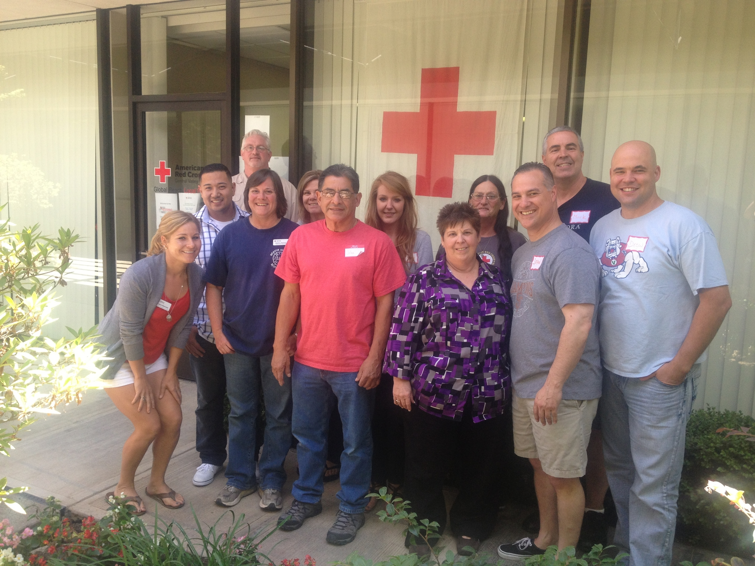 Central Valley's first Restoring Family Links Casework team
