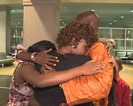 Honorine's family sees each other for the first time in five years.
