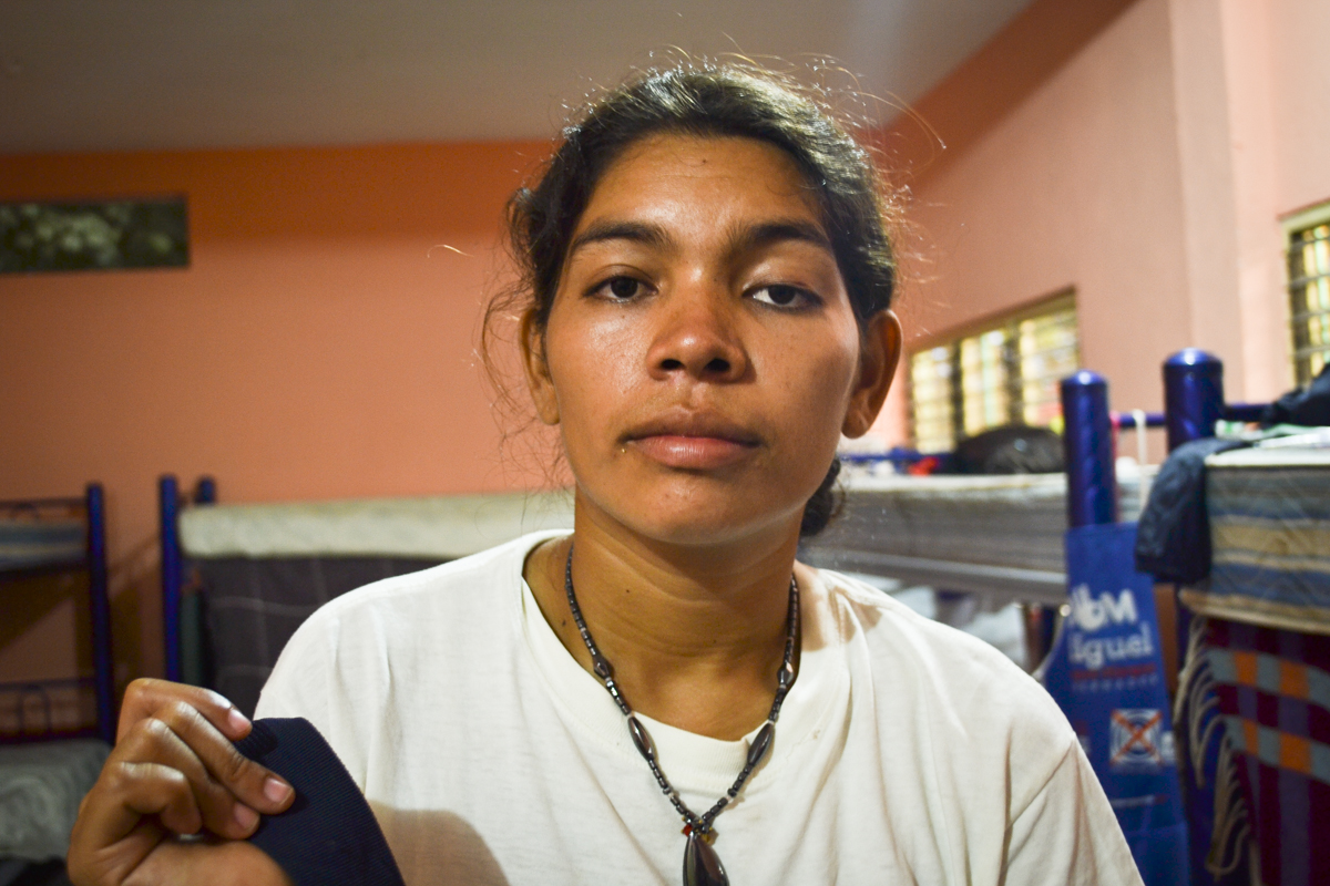 """Picture of Elsy Nohelia Ayala from """"More Invisible and More Vulnerable"""" report by Global Press Journal."""