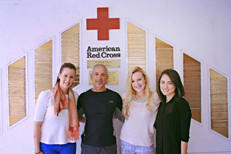 LA Restoring Family Links team with Johnny Herzberg.