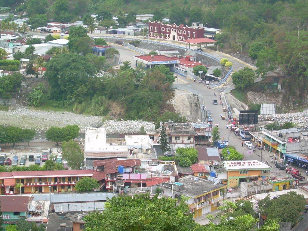 Panoramic view - El Carmen, Guatemala