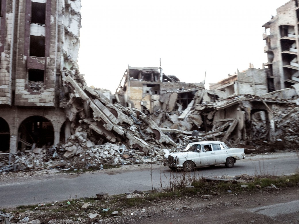 Homs, Syria. Photo credit: Jerome Sessini, ICRC