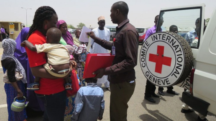 The ICRC's work to restore family links broken apart by war is a key service it provides to reduce the harmful impacts of conflict on civilians. CC BY-NC-ND / ICRC / Umar Sadiq