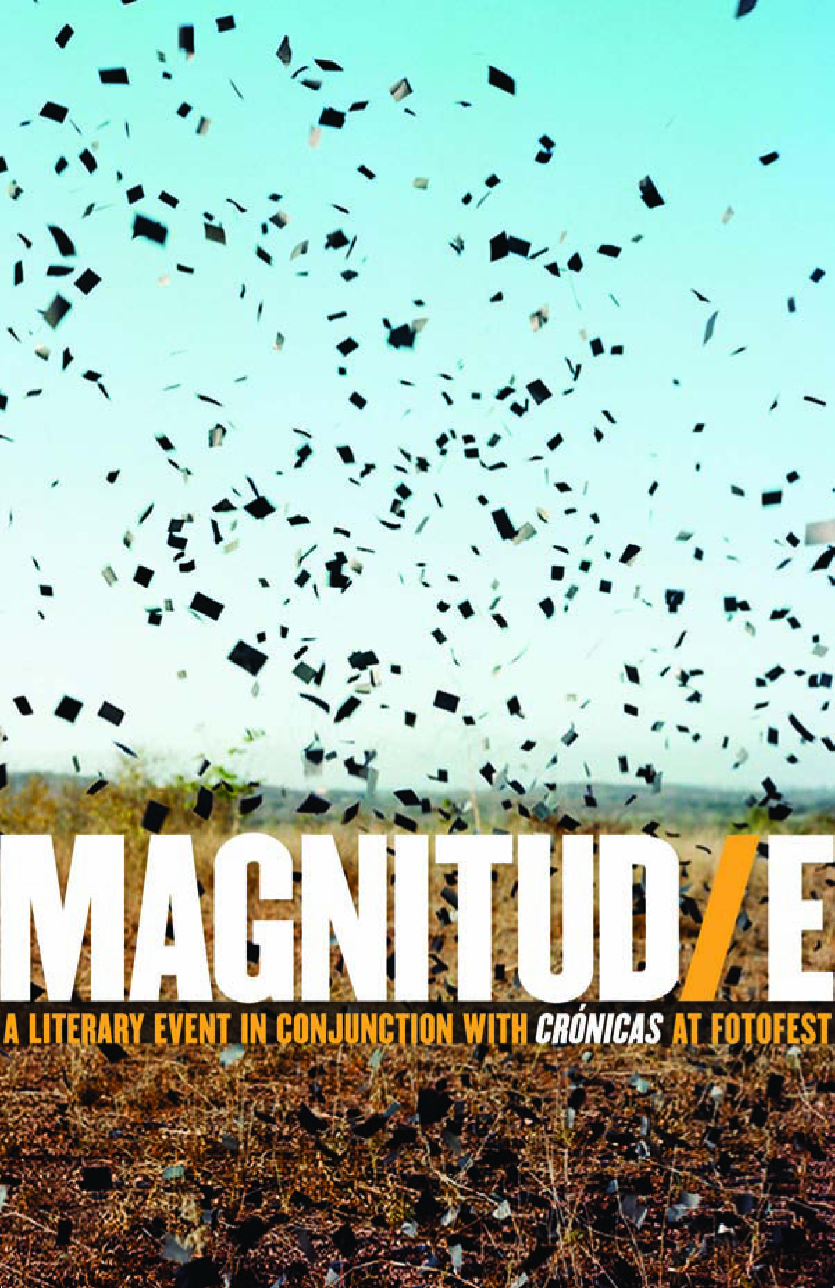 Magnitud/e flyer designed by Make.Play.Speak
