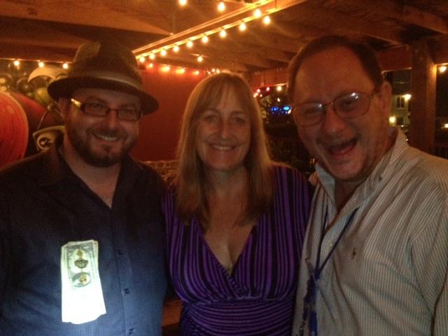 My birthday 2013 with Kelly Ann Ellis and Bucky