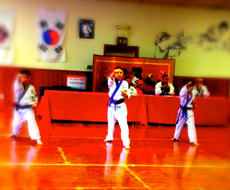 Karate Belt Test
